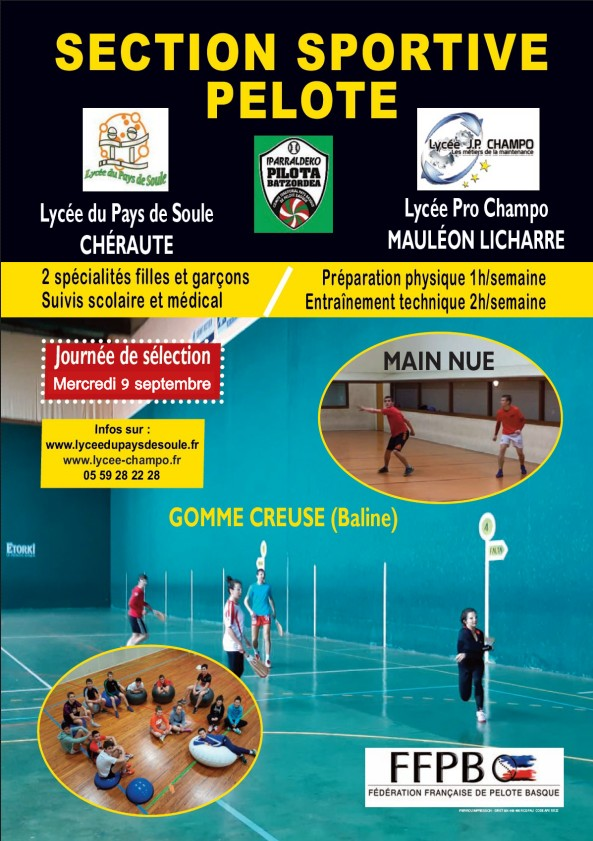 Section sportive Pelote Soule